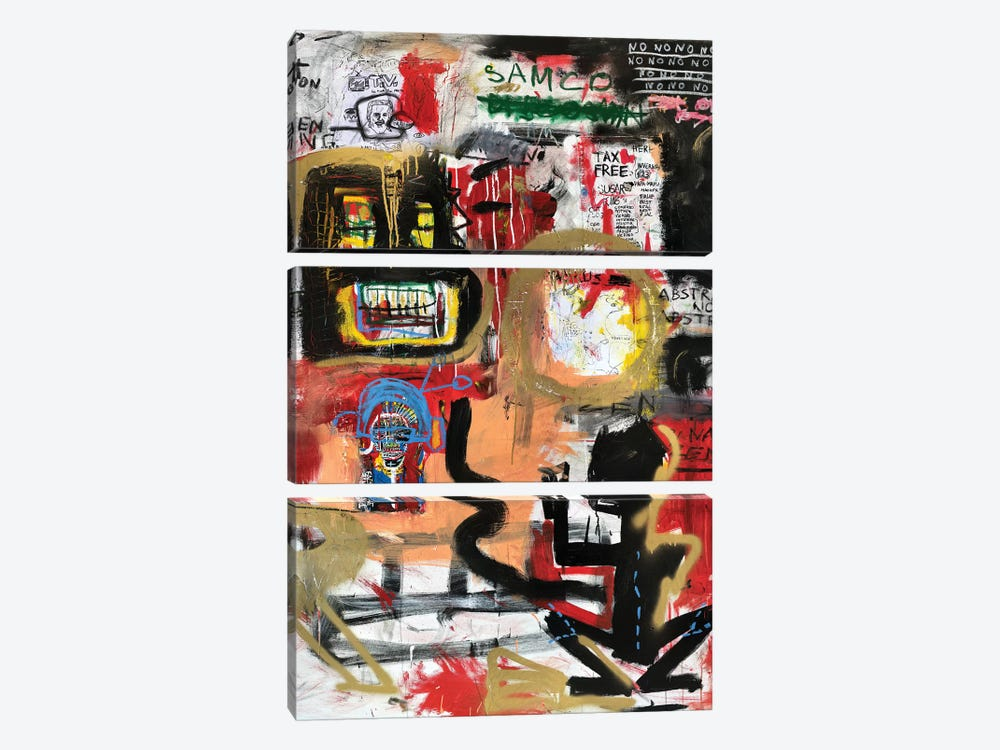 Gigante by PinkPankPunk 3-piece Canvas Print