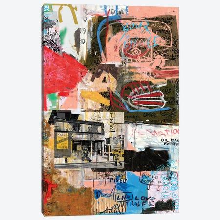 Katz's Canvas Print #PPP40} by PinkPankPunk Canvas Artwork