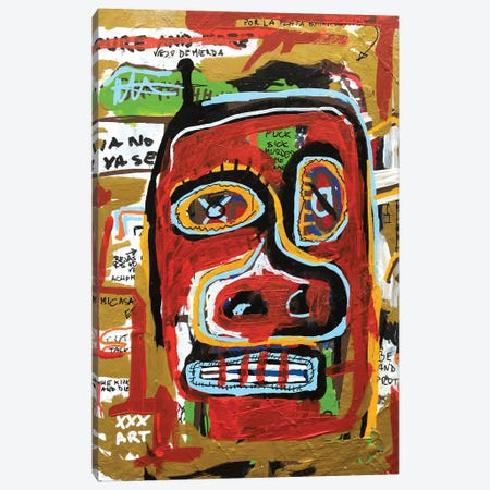 The Face Canvas Print #PPP46} by Diego Tirigall Art Print