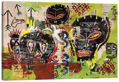Kaos Heads Canvas Art Print