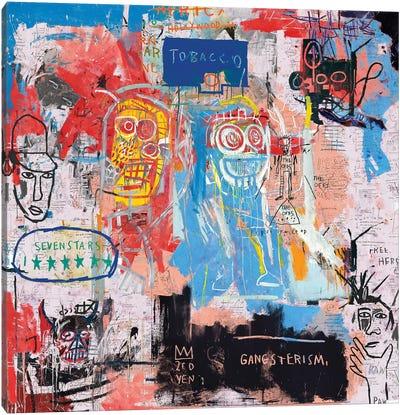Basquiat Style II Canvas Art Print