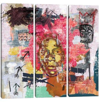 Jean-Michel Basquiat Portrait Canvas Art Print