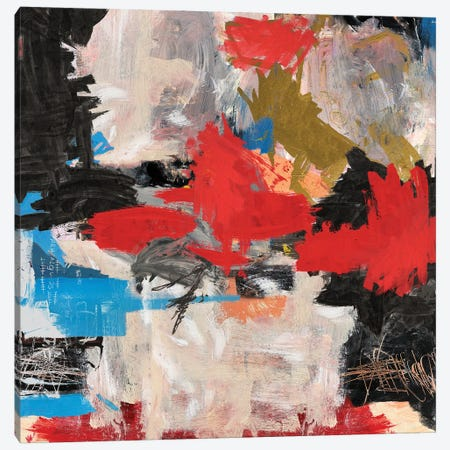 Abstract Expressionism Painting Canvas Print #PPP66} by PinkPankPunk Canvas Print