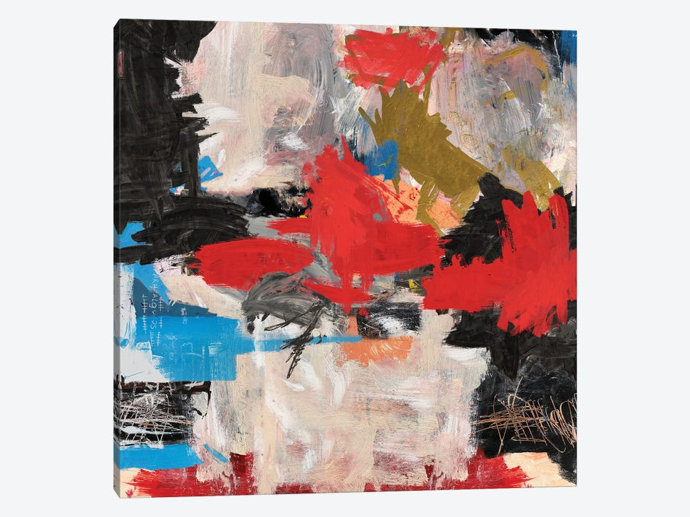 Abstract Expressionism Painting by PinkPankPunk 1-piece Canvas Print