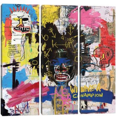 Portrait of Basquiat Canvas Art Print