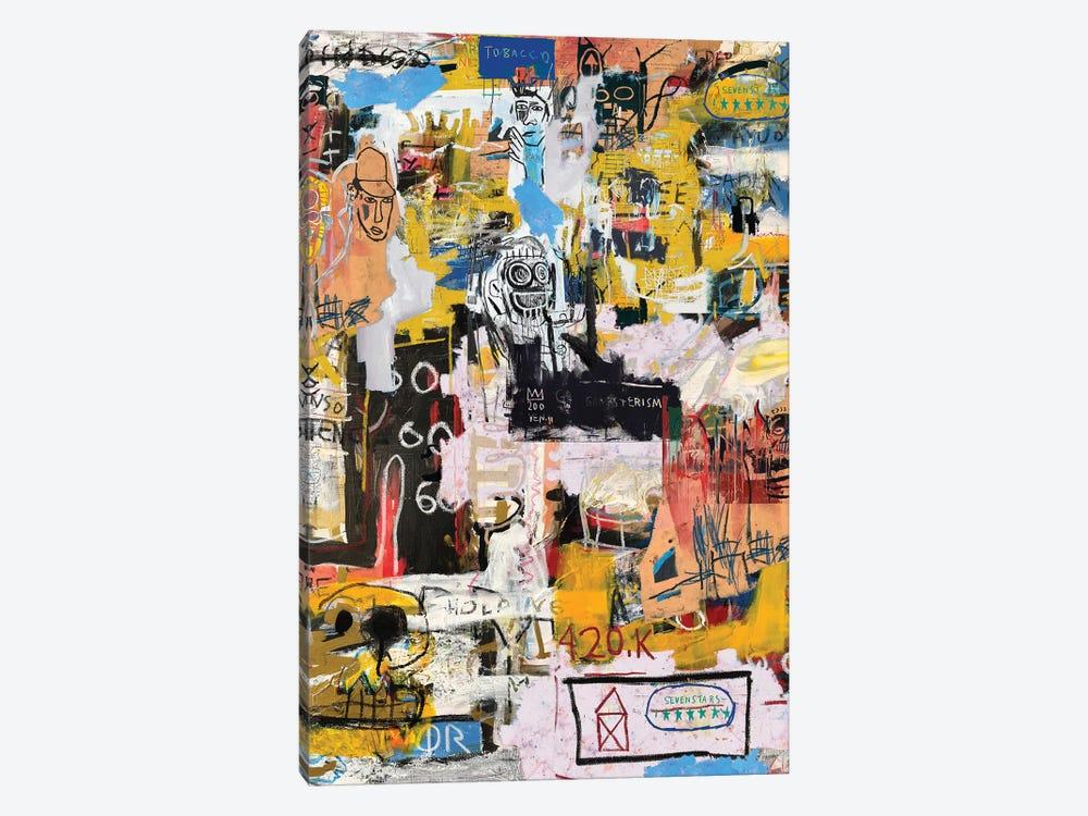 Basquiat World by PinkPankPunk 1-piece Canvas Art