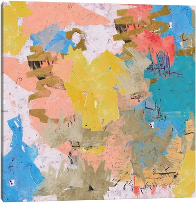 An Abstract Feeling Canvas Art Print