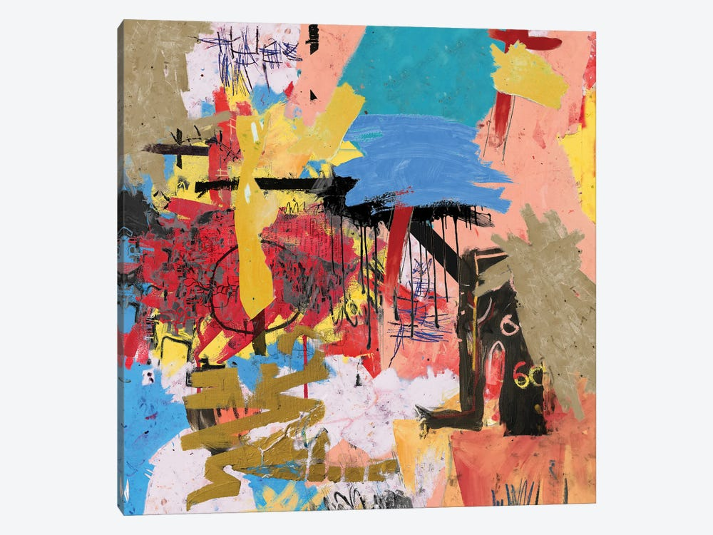 What Is Expressionism by PinkPankPunk 1-piece Canvas Wall Art