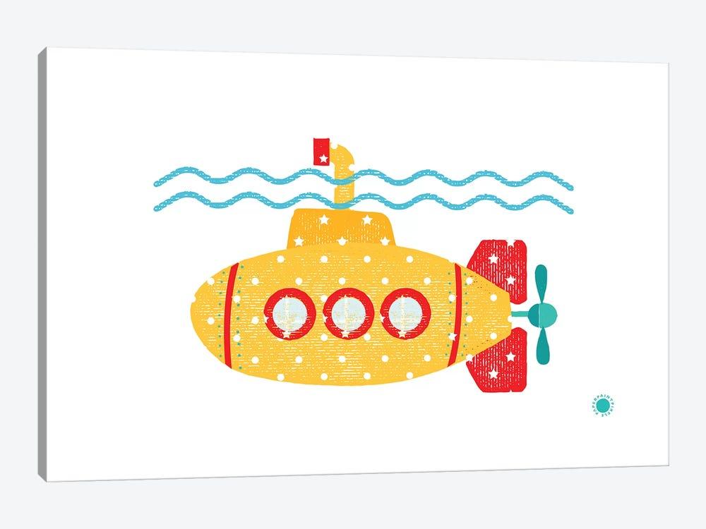 Submarine by PaperPaintPixels 1-piece Art Print