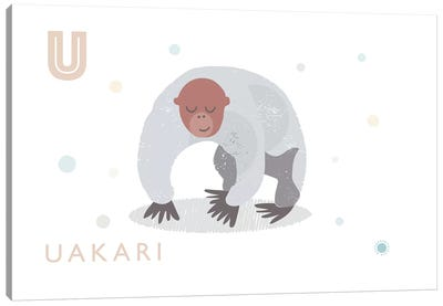 Uakari Canvas Art Print