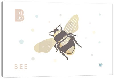 B Is For Bee Canvas Art Print