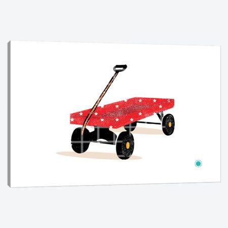 Wagon Canvas Print #PPX121} by PaperPaintPixels Canvas Print