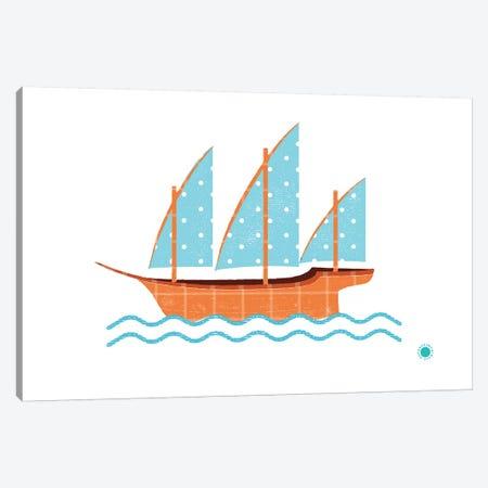 Xebec Canvas Print #PPX127} by PaperPaintPixels Canvas Art