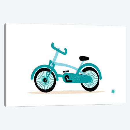 Bicycle Canvas Print #PPX13} by PaperPaintPixels Canvas Art Print