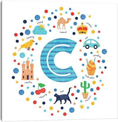C Canvas Art Print