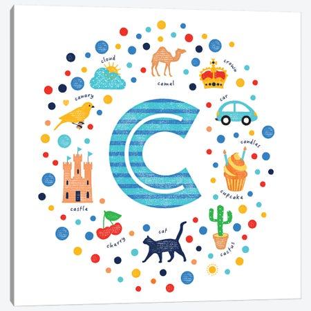 C Canvas Print #PPX20} by PaperPaintPixels Canvas Art