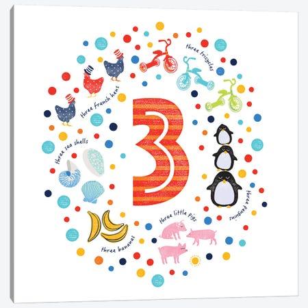 3 Canvas Print #PPX3} by PaperPaintPixels Art Print