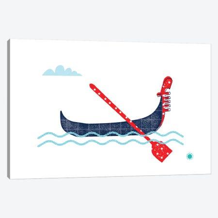 Gondola Canvas Print #PPX40} by PaperPaintPixels Canvas Art