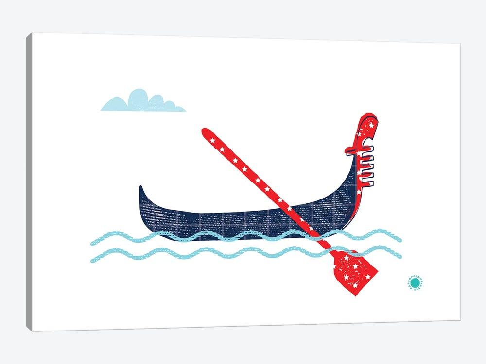Gondola by PaperPaintPixels 1-piece Canvas Artwork