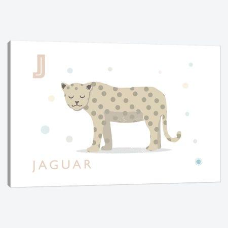 Jaguar 3-Piece Canvas #PPX52} by PaperPaintPixels Canvas Print