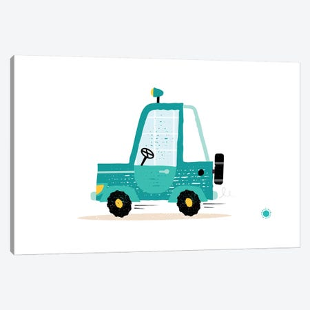 Jeep Canvas Print #PPX53} by PaperPaintPixels Art Print