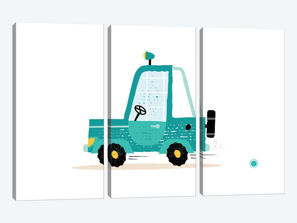 Jeep by PaperPaintPixels 3-piece Canvas Wall Art