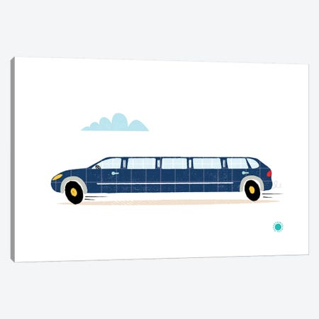 Limo Canvas Print #PPX58} by PaperPaintPixels Canvas Art Print