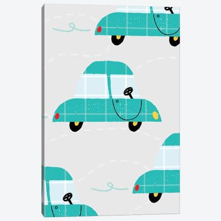 On The Road Automobiles Canvas Print #PPX78} by PaperPaintPixels Canvas Art Print