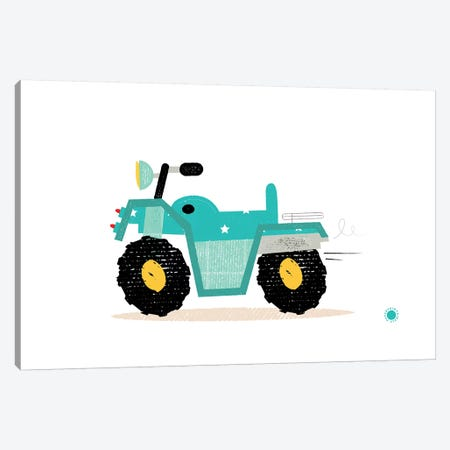 Quad Bike Canvas Print #PPX94} by PaperPaintPixels Canvas Wall Art