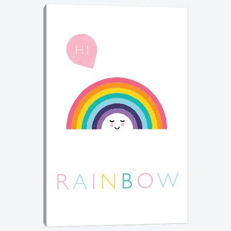 Rainbow Canvas Print #PPX97} by PaperPaintPixels Canvas Art