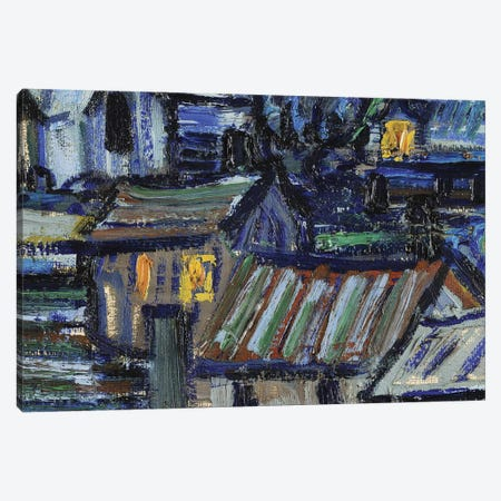 The Starry Night, June 1889 Canvas Print #PRE10} by Vincent van Gogh Canvas Print