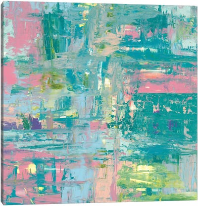 Islands Abstract II Canvas Art Print