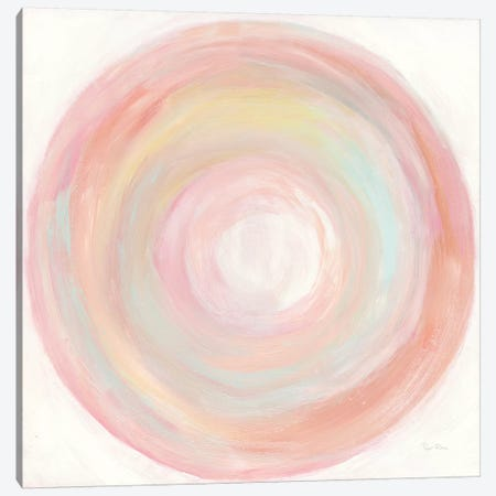 Tropical Swirl II Canvas Print #PRH14} by Piper Rhue Art Print