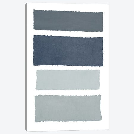 Painted Weaving I Gray Canvas Print #PRH19} by Piper Rhue Canvas Art