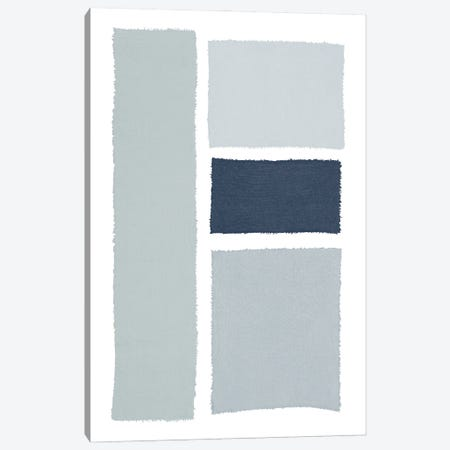Painted Weaving III Gray Canvas Print #PRH20} by Piper Rhue Canvas Art Print