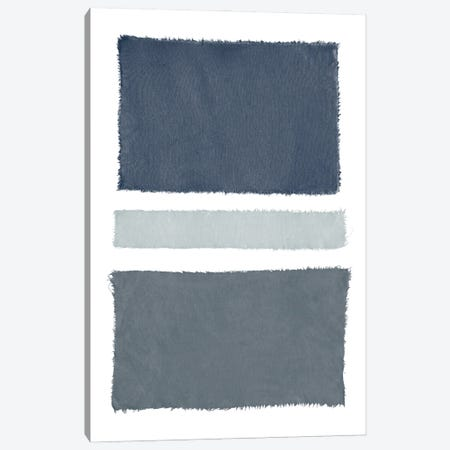 Painted Weaving V Gray Canvas Print #PRH21} by Piper Rhue Canvas Art Print