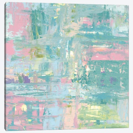 Islands Abstract II Pastel Canvas Print #PRH22} by Piper Rhue Art Print