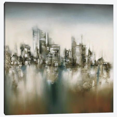 Urban Haze Canvas Print #PRI3} by J.P. Prior Canvas Art Print