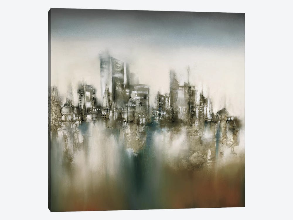 Urban Haze by J.P. Prior 1-piece Art Print