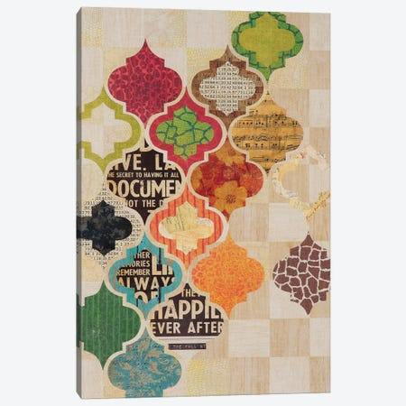 Moroccan Mod II Canvas Print #PRK15} by Greg Perkins Canvas Art