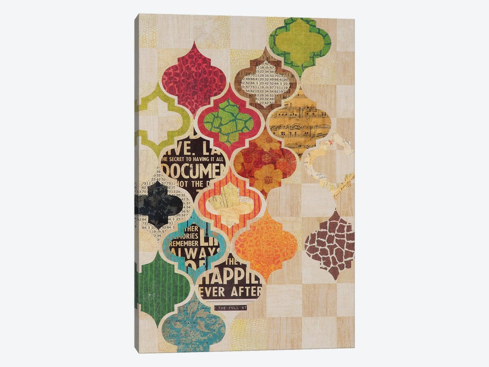 Moroccan Mod II by Greg Perkins 1-piece Canvas Art Print