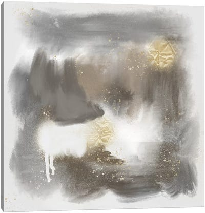 Spotty Abstract II Canvas Art Print