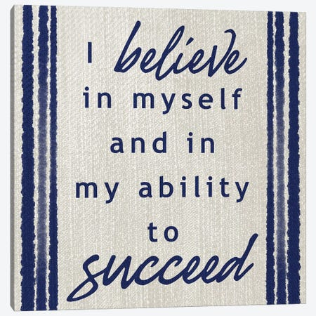 Belief In Success Canvas Print #PRM123} by Marcus Prime Canvas Art