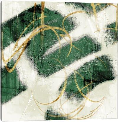 Emerald Mustard Prophecy II Canvas Art Print