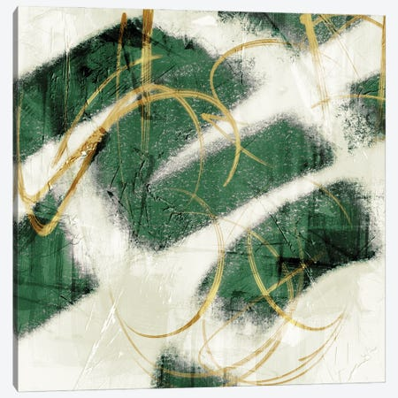Emerald Mustard Prophecy II Canvas Print #PRM130} by Marcus Prime Canvas Art Print