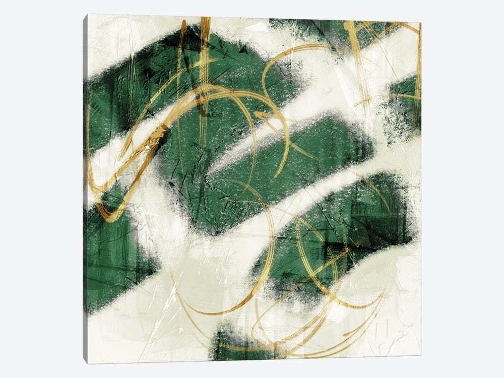 Emerald Mustard Prophecy II by Marcus Prime 1-piece Canvas Artwork