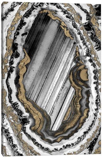 Golden Geode I Canvas Art Print
