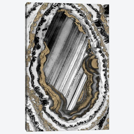 Golden Geode I Canvas Print #PRM131} by Marcus Prime Canvas Art Print