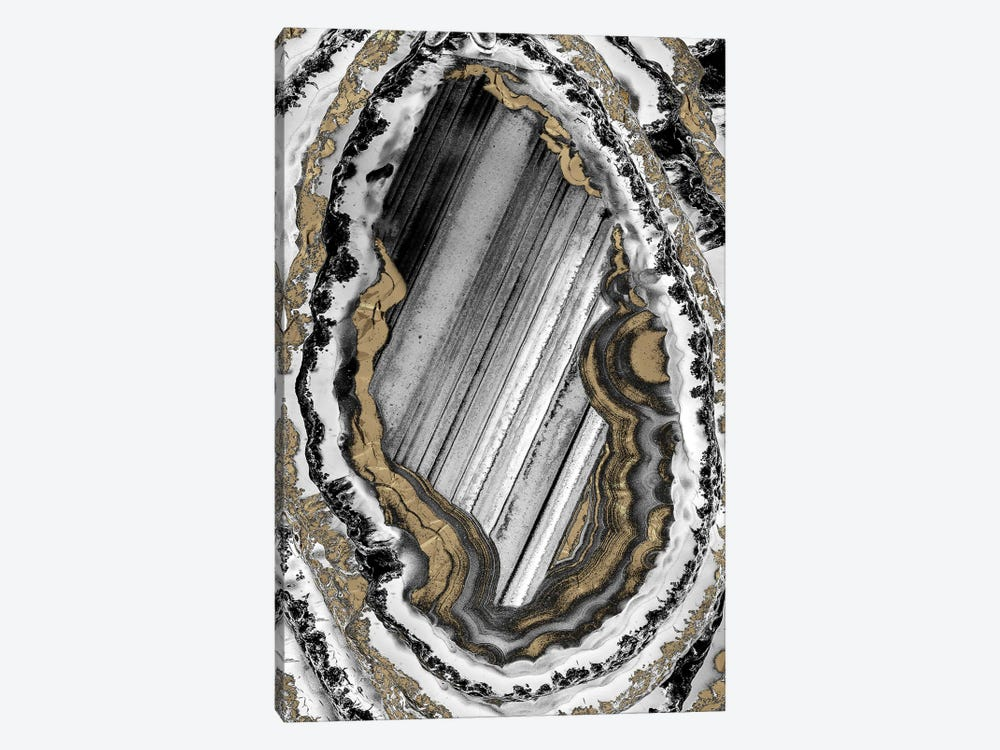 Golden Geode I by Marcus Prime 1-piece Art Print