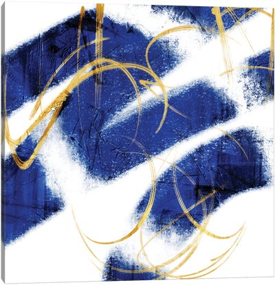 Indio Mustard Prophecy II Canvas Art Print
